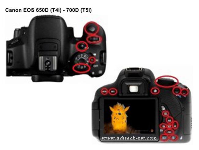 Nimar Ni650d For Canon Eos 650d Rebel T4i Eos 700d Rebel