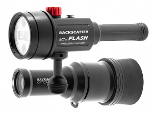 Backscatter Kit Mini Flash MF-1 & Optical Snoot OS-1