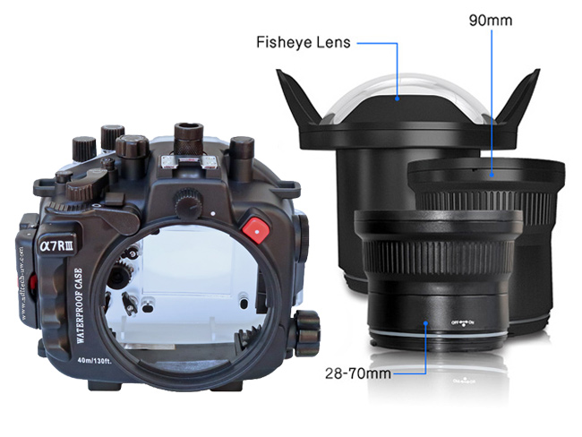Sea Frogs SF-A7RIII (Sony A7R-III/A7III) buy dive - Aditech